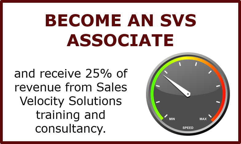 Become a Sales Velocity Solutions Associate