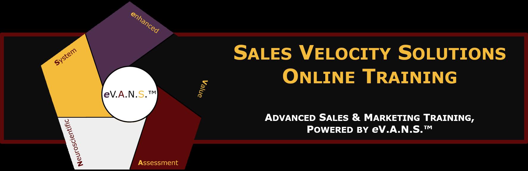 Sales Velocity Solutions Online Training Platform